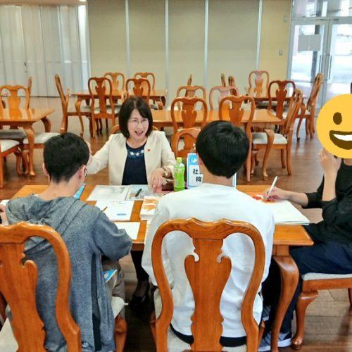 インターンシップガイドブック発刊記念イベント in 宇部フロンティア大学